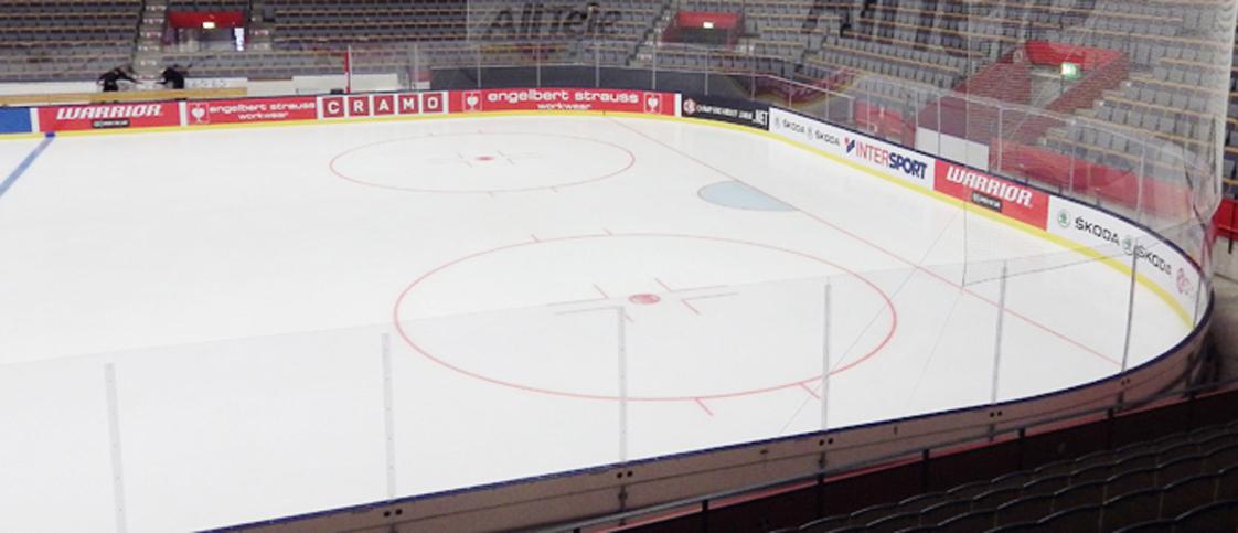 SAAB Arena Linköping fick ny specialsarg 2014